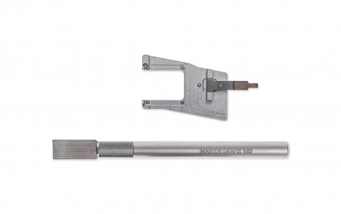 Martin-1200-Print Tool with squeegee for tool shuttle 32, 40 2