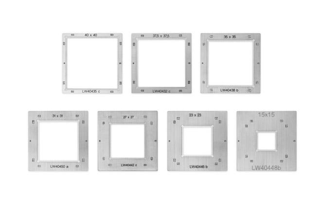 Reballing frame set BGA eco