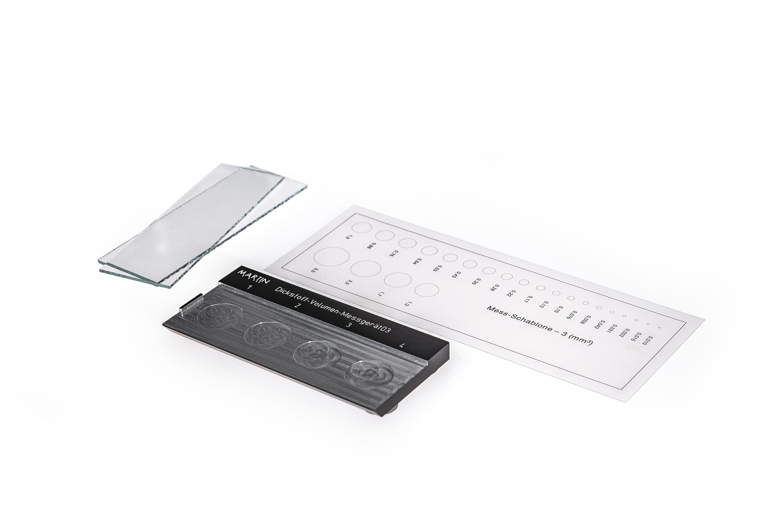 Dickstoff-Volumen-Messgerät KVM 03